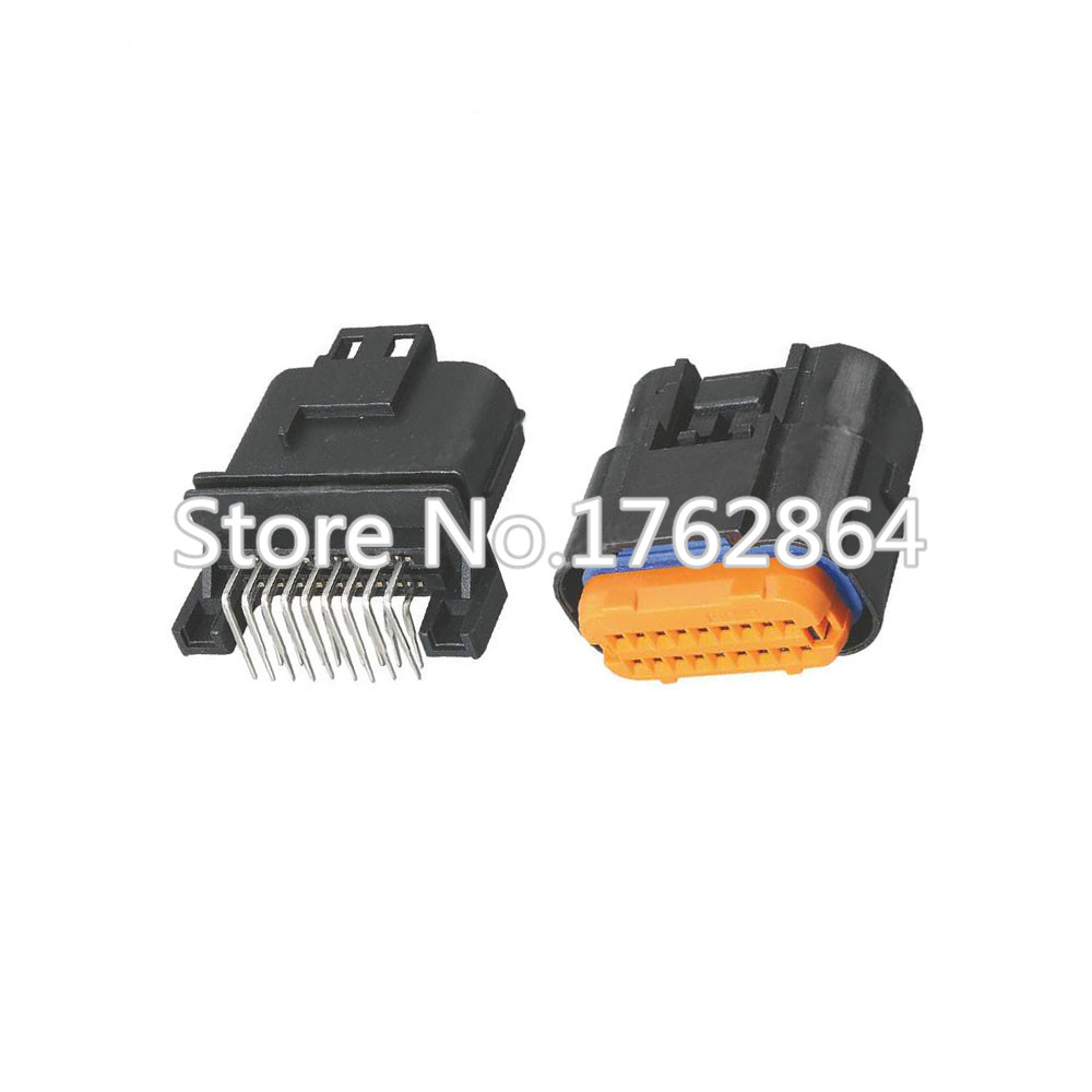 18 pin Automotive computer plug connectors with terminals DJ7181A-1-10 / 21 18P car connectors 90 pin automotive computer welded board automotive computer control system with terminal dj7901 1 5 10 90p connector