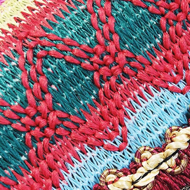 New Women Tassel Fashion Straw Bag INS Popular Female Summer Handbag Chains Lady Casual Shoulder Bag Beach Knit Crossbody SS3307 (4)
