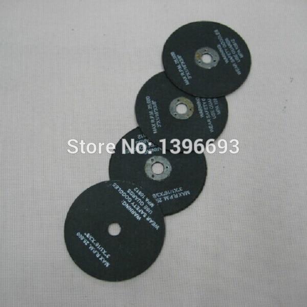"""10ks / šarže, 3 """"x1 / 12"""" x3 / 8 """"kovové řezné kotouče, brusné kotouče 75x2,0x10 mm pro obrábění kovů."""