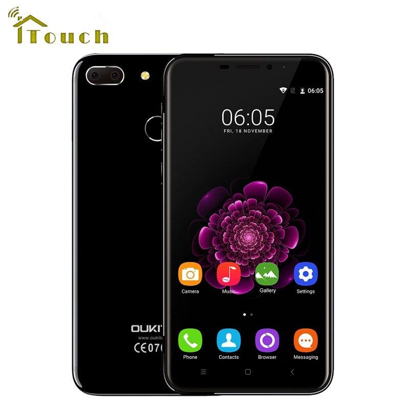 Цена за Оригинал Oukitel U20 Плюс 5.5 дюймов 4 Г LTE 1920x1080 FHD Мобильного Телефона Android 6.0 MT6737T Quad Core 13MP 3300 мАч Отпечатков Пальцев