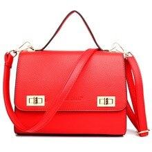 Классический женщины искусственная кожа небольшой почтовый плечо кроссбоди сумка сумка тотализатор сумка сумка с одной ручкой