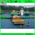 Inflatable Sea Floating Water Park / Water Play Equipment For Adults With CE