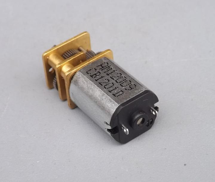 10pcs/lot,N20 DC 3V 5V 6V 9V  N20 With Metal Gear Box