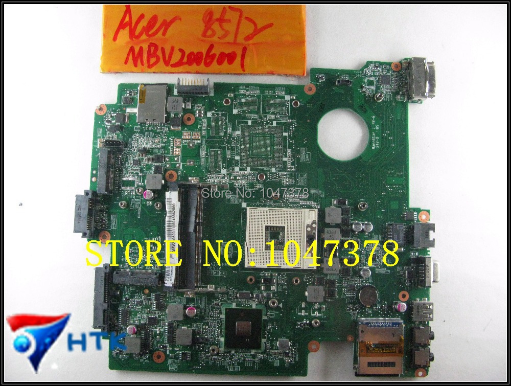Wholesale For Acer Travelmate 8572 LAPTOP Motherboard HM55 integrated DDR3 DA0ZR9MB8D0 MBV2006001 100% Work Perfect wholesale 6050a2341701 laptop motherboard for acer travelmate 8732hm55 non integrated mbbap30702 100