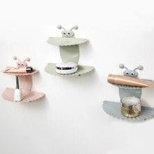 Мультяшная двухслойная Кухонная мойка Инструменты Аксессуары для мыла блюдо всасывающая корзина для хранения мыльница подставка