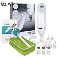 12 Tips Diamond Micro Dermabrasion Skin Peeling Beauty Machine Vacuum Blackhead Removal Acne Remove Face Cleaning