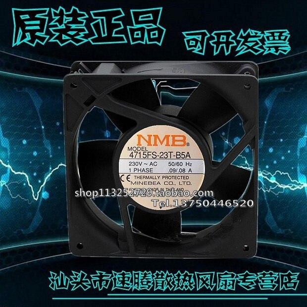 New 12CM 12038 230V 0.09A / 0.08A fan 4715FS-23T-B5A delta new ffr1212dhe 12038 12cm super fan 12v 6 3a car booster fan violence 120 120 38mm