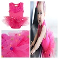 dc7e55aaaf02 One Piece Cake Lace Petti Romper Dress for Girl Jumper Baby Coverall ...