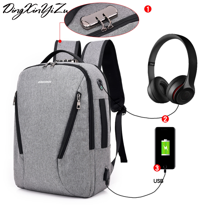 USB Charging Laptop Backpack Woman Travel Backpack College Student School bag Man Business Backpacks 2018 New Unti-theft PACKUSB Charging Laptop Backpack Woman Travel Backpack College Student School bag Man Business Backpacks 2018 New Unti-theft PACK