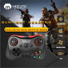 MOCUTE 056 VR Game Pad Android Joystick Bluetooth Controller Selfie Remote Control Shutter Gamepad Wireless for PC Phone TV BOX