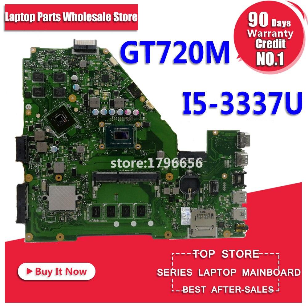 X550CC Carte Mère GT720M I5-3337U Pour ASUS X550C X550CL X552C Mère d'ordinateur portable X550CC Carte Mère X550CC Carte Mère test ok