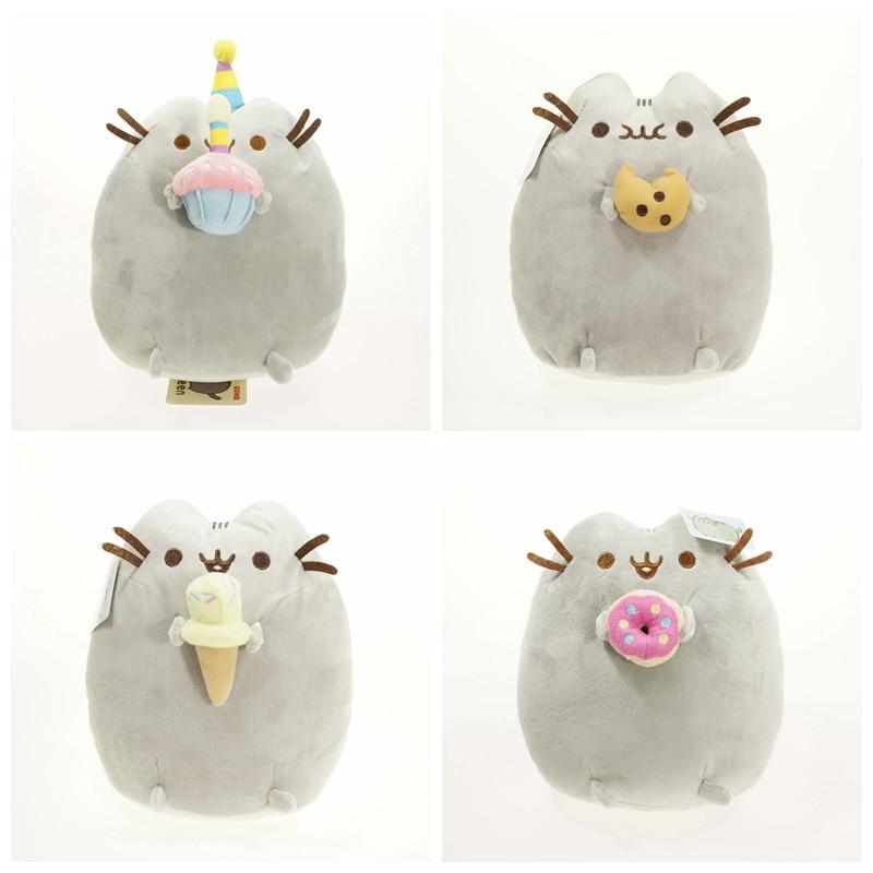 23cm 15cm Plush Pusheen Cat Stuffed Animals Doll Toy