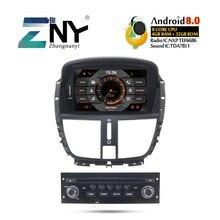7 «HD Android 9,0 автомобильный стерео gps для peugeot 207 для автомобиля, DVD Радио RDS FM Аудио Видео головное устройство навигация WiFi Бесплатная камера заднего вида
