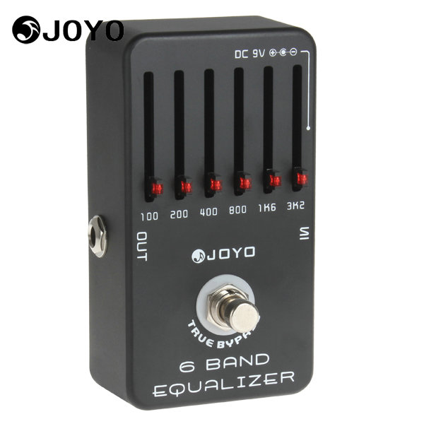 Joyo JF-11 Professional Electric Guitar Pedal Effect Box 6-Bands Equalizer & True Bypass Musical Instrument Guitar Accessories volume pedal new portable true bypass design 15ma 2in1 volume pedal cp 31 wah pedal musical instruments accessories ea14