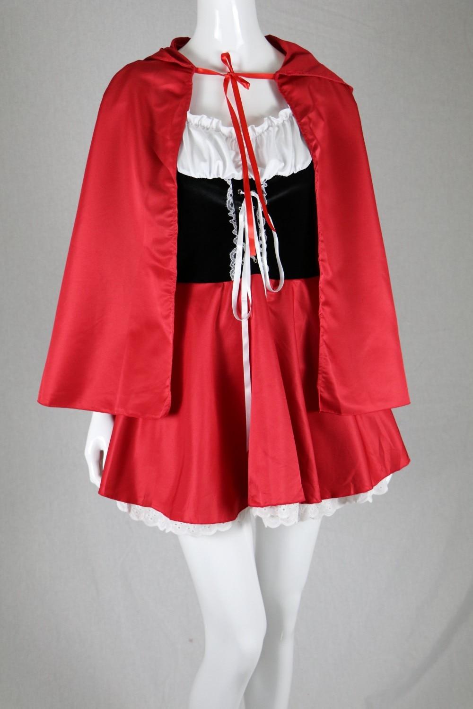 disfraces de halloween para mujer sexy cosplay caperucita roja juego - Disfraces - foto 5