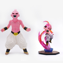 2 styles/lot Anime Dragon Ball Z  Majin Buu Boo PVC Action Figure Doll Collectible Model Toy Christmas Gift For Children [funny] original box 28cm game over watch azrael black death reaper ripper action figure collectible model doll toy kids gift