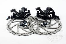 On sale Retail sale Tektro 100% original  NovelA  bicycle disc MTB brake  system groupset caliper + 2 disc rotors