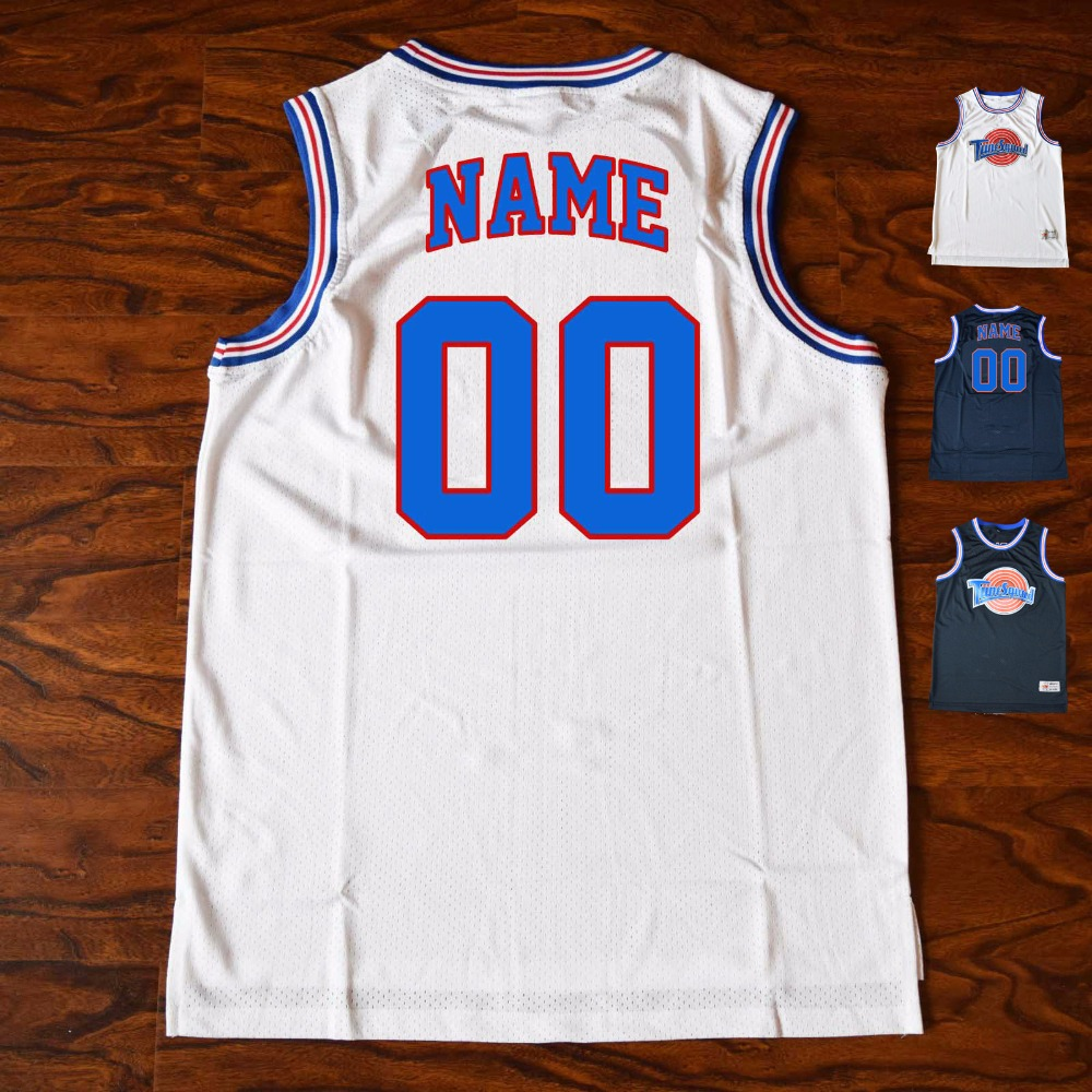 MM MASMIG Customized Space Jam Tune Squad Basketball Jerseys - Custom Your Space Jam Jerseys with Stitched Name and Number