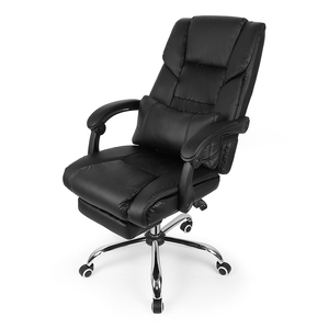 Image 2 - 2019 Quality Black Lifting Chair Reclining Office Swivel Chair Home Computer Desk Armchair Boss Office Chair with Footrest HWC