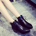 Flattened flat-bottomed boots women pointed women's shoes in the women's boots in the spring and winter high winter fashion boot