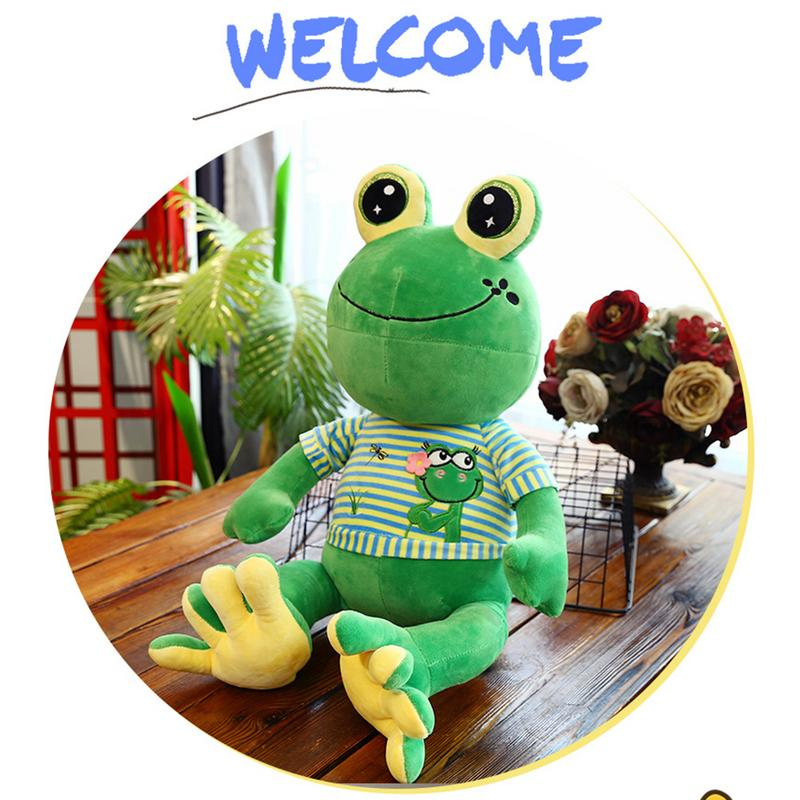 65cm Cute Cartoon Muppets KERMIT FROG Plush Toys Doll Frog Shaped Doll Lovely Gift Doll For Kids