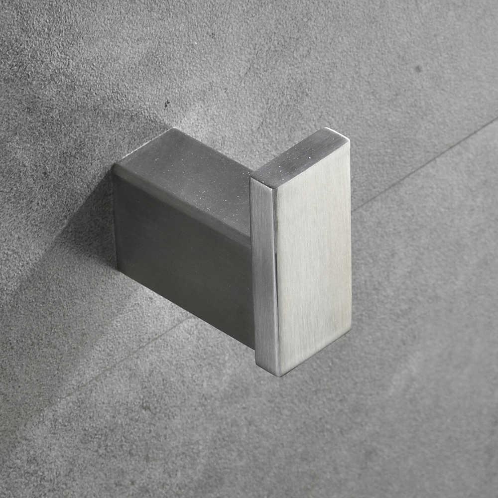Suportes de papel estilo euro acessórios do banheiro conjunto de ferragem banho aço inoxidável toalheiro anel toalha montagem do banheiro WF-610000
