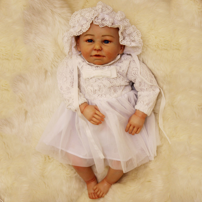 Mini Cotton Dolls Babies Realistic Gifts for Baby Girl Dolls Comfort Baby Bedtime Toy Dolls Fashion With High-End Handmade