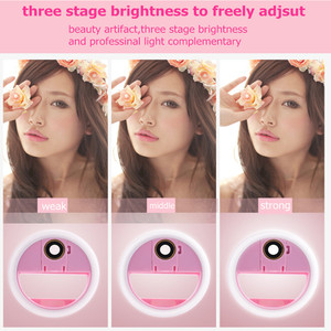Image 3 - USB LED Beauty Fill Light Supplementary Lighting Night Darkness Selfie Enhancing for phone charge Selfie Ring Light ringlight
