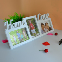Wedding Photo Frame Wall Frame Sets Creative Wedding Decorative Frame Home Decoration Accessories White Picture Frame