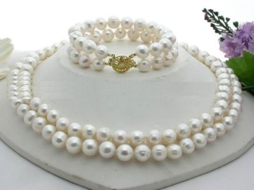 FREE SHIPPING>>>@@ > 11-12MM NATURAL SOUTH SEA GENUINE WHITE PEARL NECKLACE 18