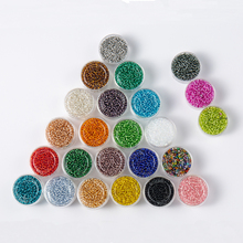 ZHUBI Mixed Colors Crystal Czech Glass Sead Beads 2mm 1000PCS/Box fits Jewelry Making DIY Accessories To Make Bracelets