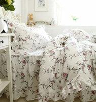 Принцессы трепал постельные принадлежности для взрослых подростков для девочек, полный королева король хлопок домашний текстиль кровать ю
