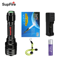 Supfire X8 LED Flashlight Bicycle Light for Alonefire Torch Light CREE T6 Police Tactical Bike Flashlight for Sofirn Fenix S093