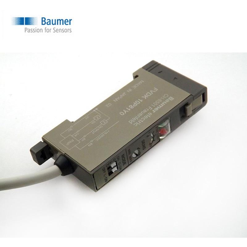 цена на Authentic original Swiss Baumer fiber amplifier FVDK 10 p83y0 FVDK 12 p6101 / S35A