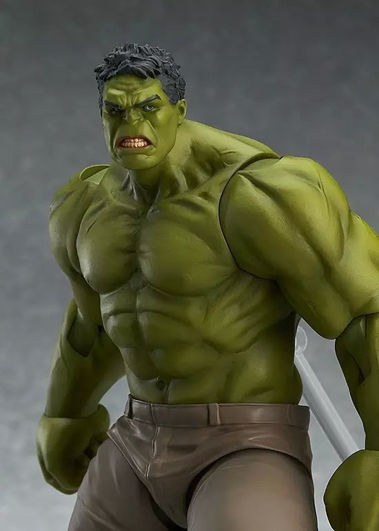 The Avengers Hulk Figma Action Figure 271 Collectible Model Toy 17cm