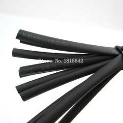 5 м/лот черный 3 мм термоусадочная Термоусадочная трубка Sleeving wrap Wire черный цвет