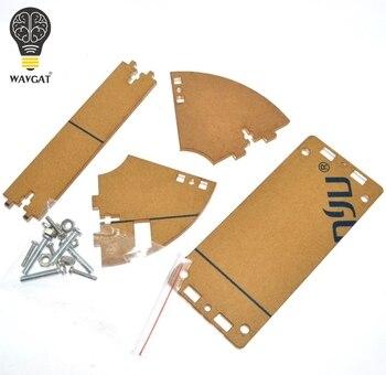 WAVGAT przezroczysta powłoka akrylowa do LCD1602 ekran LCD z śruby/nakrętki LCD1602 Shell Case uchwyt (nie z 1602 LCD)