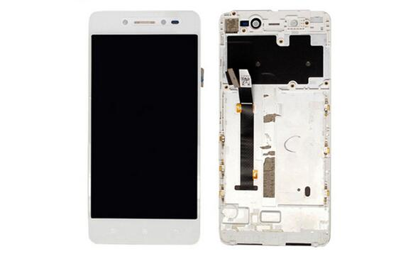 5.0 Lcd Display screen+Touch Glass digitizer Frame assembly For Lenovo S90 S90-A S90-U S90-T Pantalla free shipping