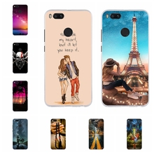 For Xiaomi Mi A1 5X Case Slim Soft TPU Silicone MiA1 Cover Rabbit Patterned Mi5X Shell Bag