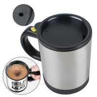 350Ml Mug Automatic Electric Lazy Self Stirring Mug Automatic Coffee Milk Mixing Mug Tea Smart Stainless