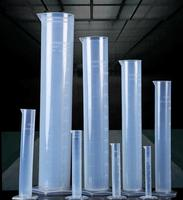 Free Shipping 2000ml 2pcs Lot Plastic Measuring Cylinder For Lab Supplies Container Tube