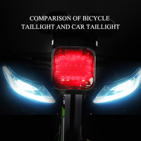 NEW LED Lamp Bluetooth Speaker Bicycle Warning Light 2200mAH USB Bike Light Rechargeable Cycling Riding Flashlight Waterproof