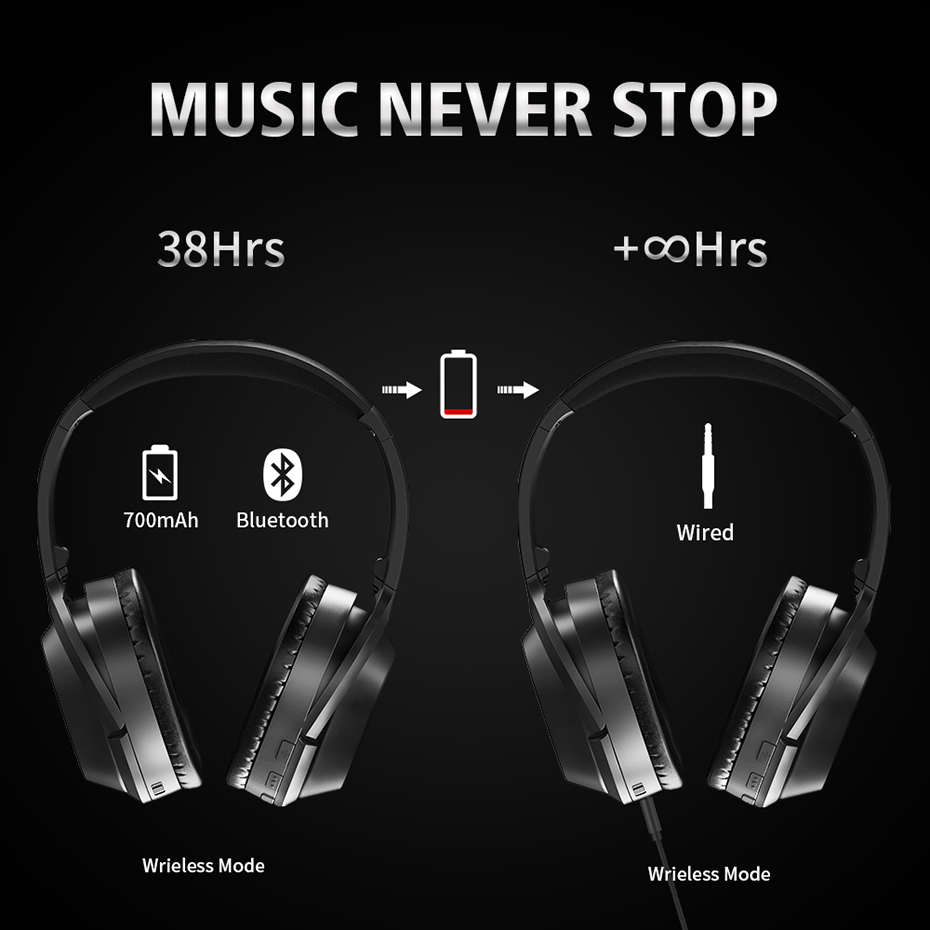 bluetooth headphone for phone music gaming (6)