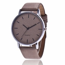 Unisex Watches Women Men Fashion Genuine Leather Quartz Wristwatch Analog Simple Casual Wrist Watch Relogio Feminino Clock Hour