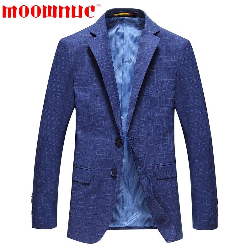 Blue Freizeit Männer Klassischen Männlichen Blau Moownuc Mode Formale Mantel Qualitätsmarke Bügeln Lässig Blazer Herbst Anzug Nicht 0P8wZnkNOX