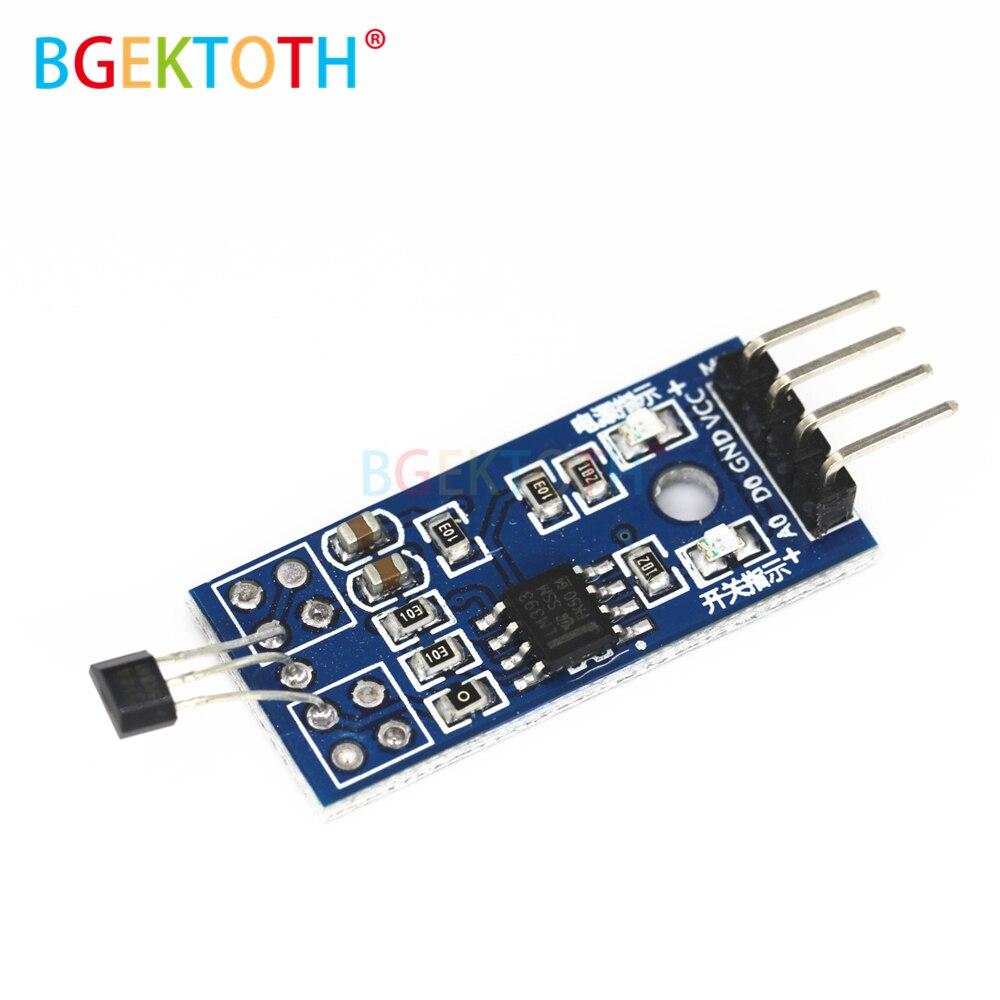 1PCS Motor Speed Measurement Hall Switch Sensor Module Speed Test Module Count Sensor