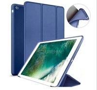 Nice Tpu Silicone Soft Back Smart PU Leather Case For Apple 2017 Ipad 9 7 Cover
