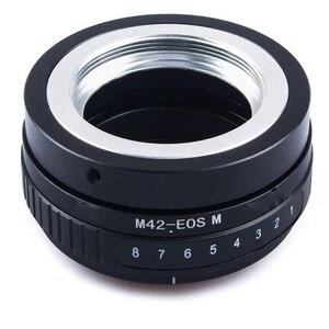 Image 4 - Foleto הטיה M42 בורג הר עדשת מתאם טבעת M42 NEX M42 FX M42 M43 כדי עבור EOS M FUJIFIM Panasonic sony NEX E NEX7 NEX 5 מצלמה