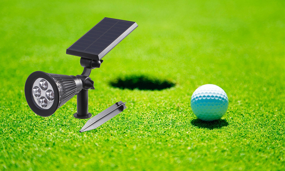 T SUN In Ground IP65 Solar Powered Spotlight with 4 to7 LEDs and Rechargeable Lithium Battery 21