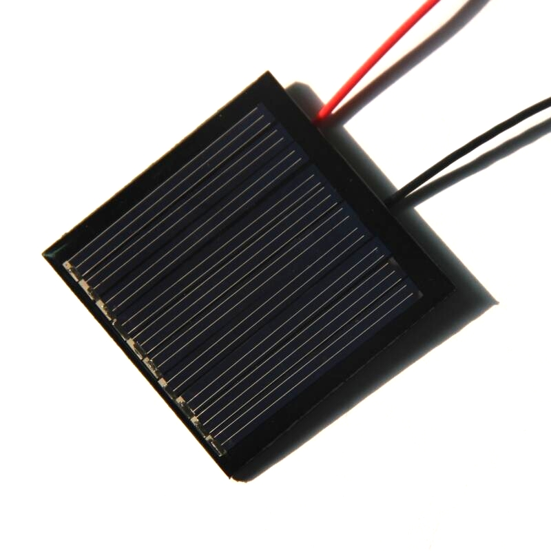 Hot 0 25w 5v 50ma Solar Panel Cable Epoxy Mini Solar Cell